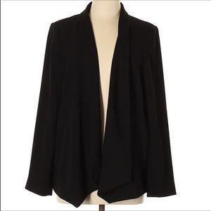 {Eileen Fisher} Open Front Blazer Size L
